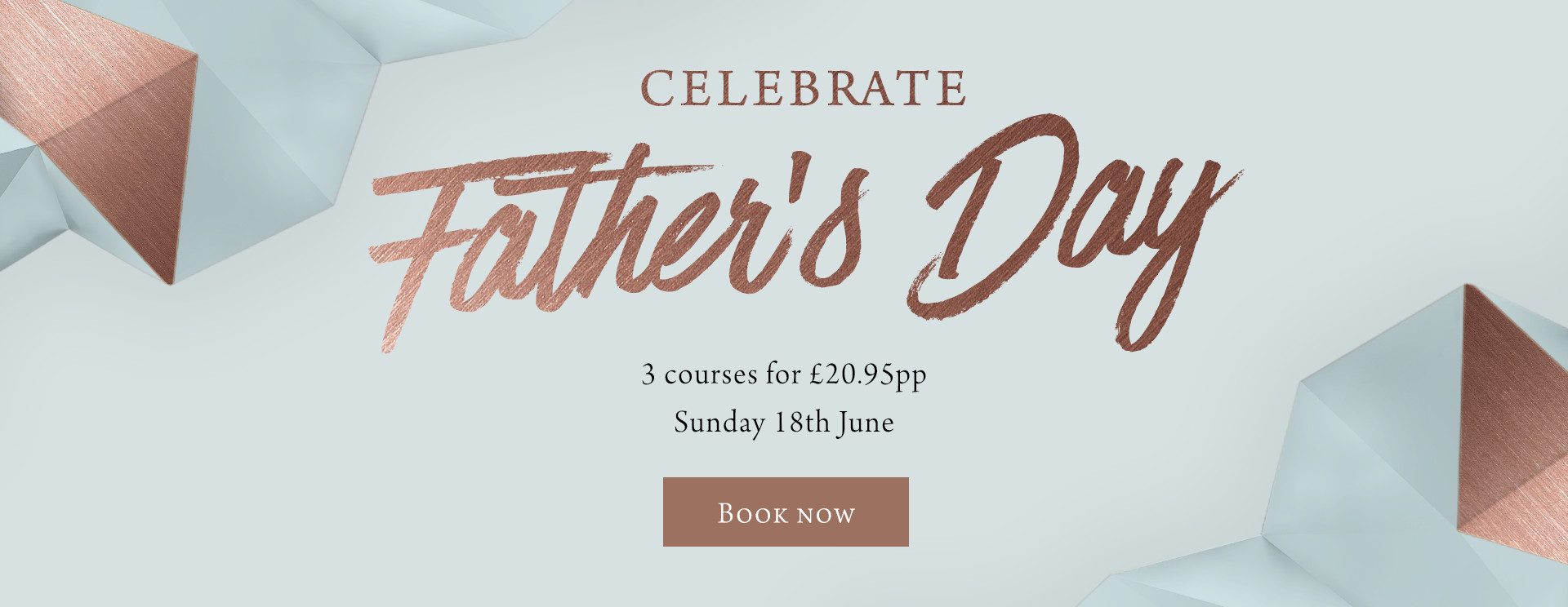 Father's Day at The Coombe Cellars - Book now